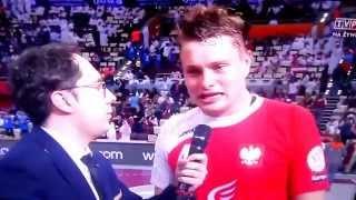 Michał Szyba wywiad MŚ KATAR 2015 brązowy medal!