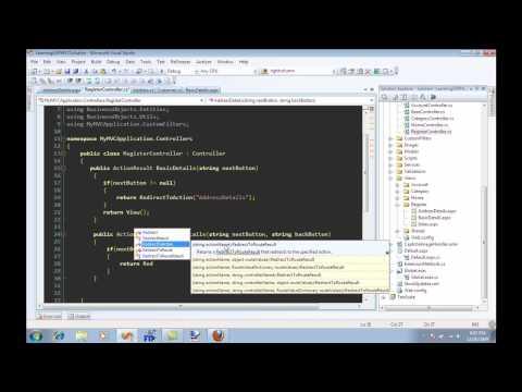 Creating Registration Wizard Using ASP.NET MVC Framework Part 1