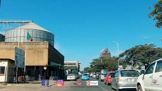 Lusaka Zambia   City Streets and CBD Downtown 4K