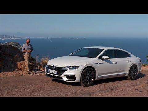 autotest vw arteon r line 4motion 2 0 tsi doovi. Black Bedroom Furniture Sets. Home Design Ideas