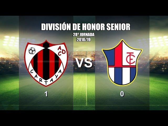 AD Cartaya vs Torreblanca CF (2018/19)