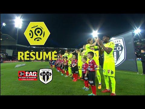 EA Guingamp - Angers SCO (1-1)  - Résumé - (EAG - SCO) / 2017-18