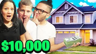 HIDDEN $10,000 TREASURE HUNT IN THE HOUSE!!! WINNER KEEPS THE MONEY - CHALLENGE!!