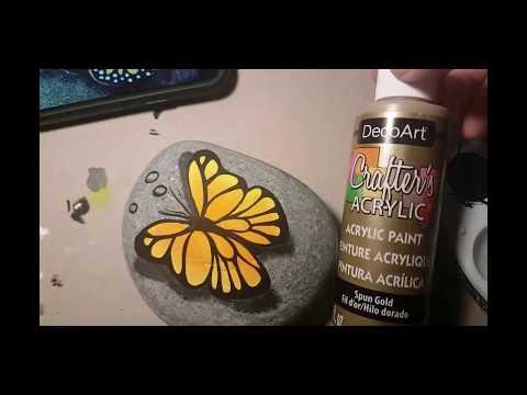 Part 1 Rachels Rocks Thirsty Butterfly