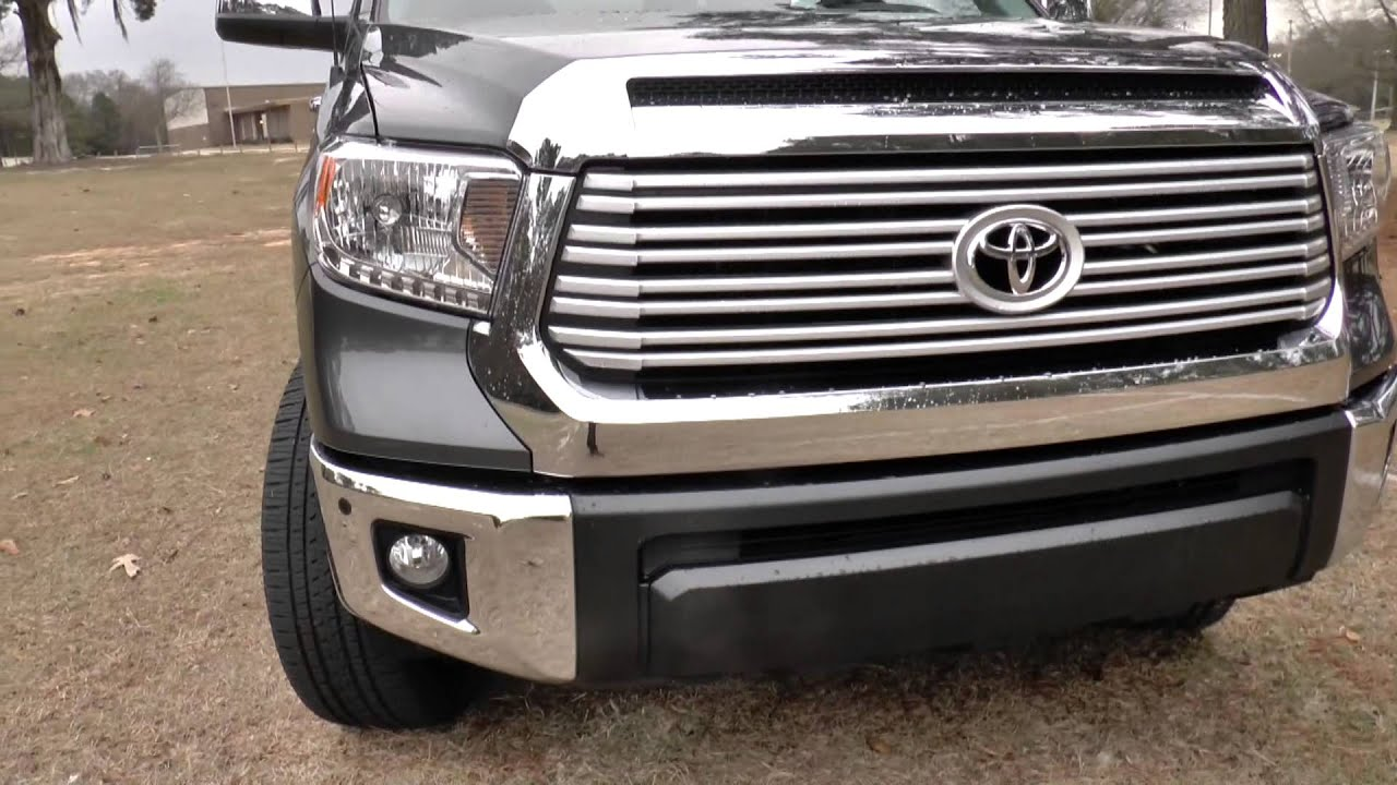 2014 Toyota Tundra Limited 4X4 CrewMax 5.7L V8, Detailed ...