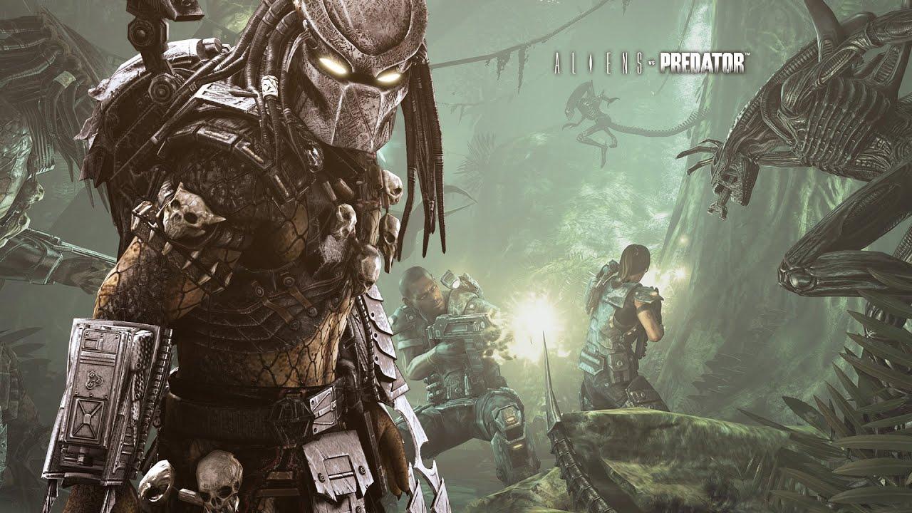 ALIENS VS PREDATOR Campagne Predator FilmGame complet - YouTube