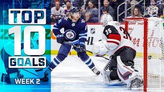 Top 10 Goals from Week 2 | 2019-20 NHL Season