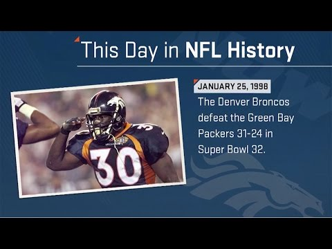 The Broncos Win One for John Elway | This Day In NFL History (1/25/1998) | NFL