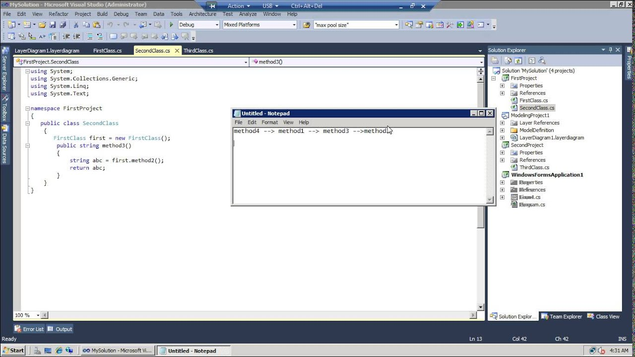 visual studio generate sequence diagram 2008 jeep jk radio wiring youtube