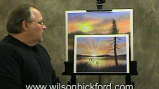 Oil Painting Lesson - Wilson Bickford - Sun Rays