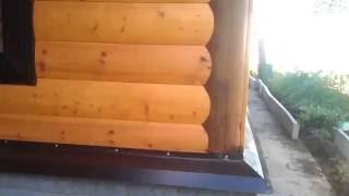 видео Отделка окна в деревянном доме внутренняя и наружная