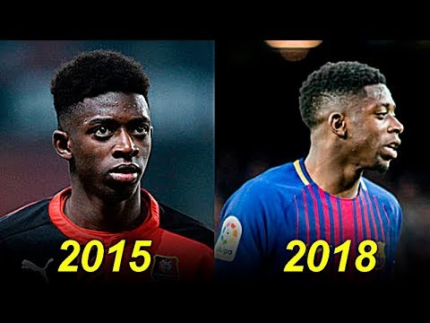 Ousmane Dembele - Evolution From 18 To 21 Years Old