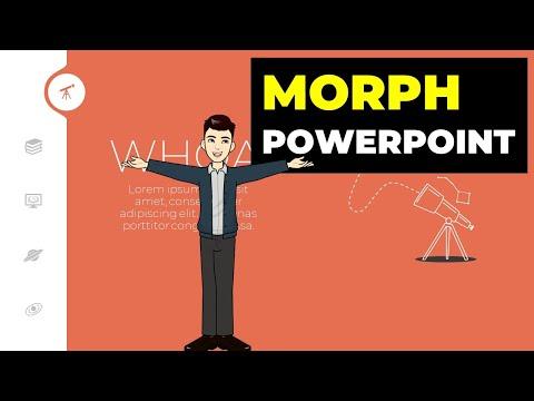 Tạo hiệu ứng morph chuyên nghiệp trong Slide powerpoint