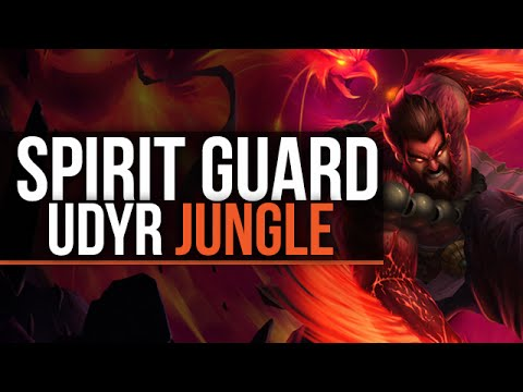 Spirit Guard Udyr - Jungle - League Of Legends Gameplay/Commentary