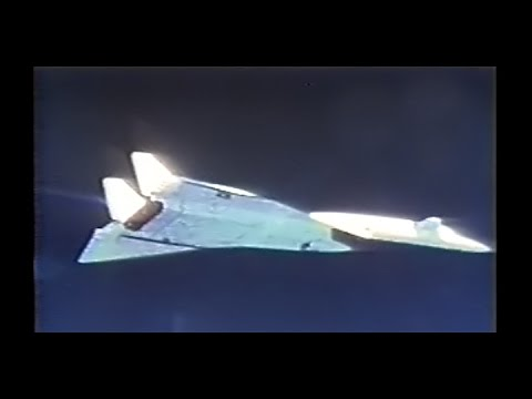 XB-70 Valkyrie Supersonic Bomber Flight Test Program Restored Color -1966
