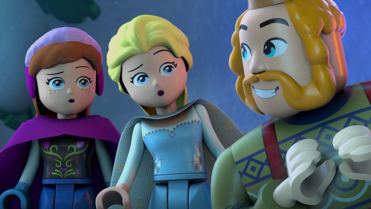 The Great Glacier Lego Disney Princess Frozen Northern
