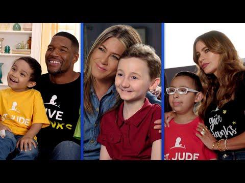 Jennifer Aniston, Sofia Vergara And Michael Strahan Lend A Hand To St. Jude's Children's Hospital