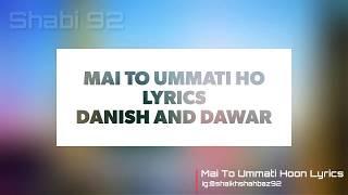 Mai To Ummati Hoon Lyrics Resimi
