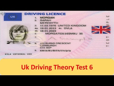 UK Driving Theory Test 6