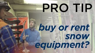 How to Rent or Purchase Ski & Snowboard Equipment - BBB Pro Tips