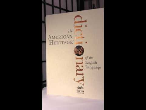 "Reference Review of ""the American Heritage dictionary"" fifth edition  (IST605)"