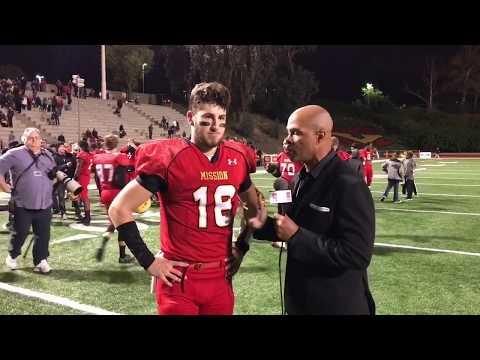 Austin Osborne WR Mission Viejo INTERVIEW - LIVE HIGH SCHOOL FOOTBALL