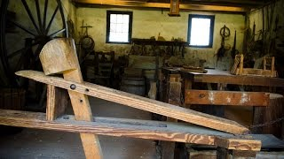 Middleton Plantation Woodworking Workshop Tour