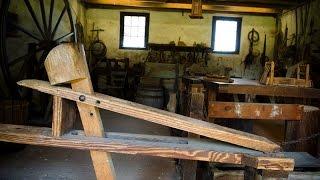 Middleton Plantation Woodworking Workshop Tour