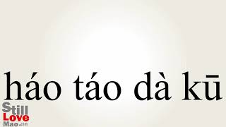 How to Say Bawling in Chinese