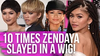 10 Times Zendaya Slayed in a Wig! (Dirty Laundry)