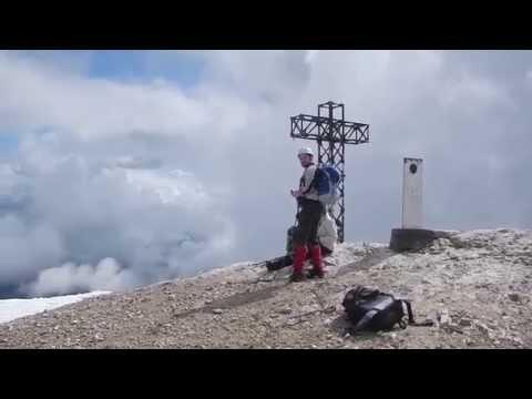 Discovery Dolomites: Regular Route Punta Penia - Marmolada