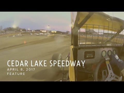 April 8, 2017 Cedar Lake Speedway Feature