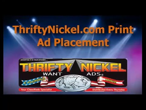 Thrifty Nickel Print ad video 2015. Online ads. American ...