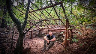 Bushcraft Super Shelter - Survival Camp 2.0 Lager Lagerbau - Deutschland deutsch #002