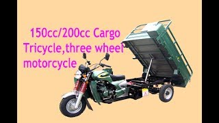 motorcycle Cargo Tricycle three wheel 150cc200cc