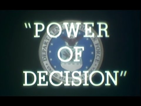 Power of Decision - Simulated Nuclear War Documentary (1958)