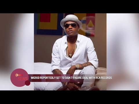 Wizkid set to sign 7 figure deal with RCA Records