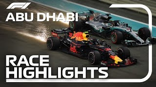2018 Abu Dhabi Grand Prix: Race Highlights
