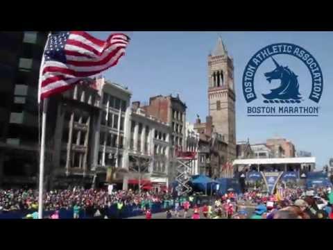 Team Red Cross - The Boston Marathon