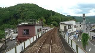 [4K]予土線 江川崎→窪川 Cabview:Ekawasaki to Kubokawa