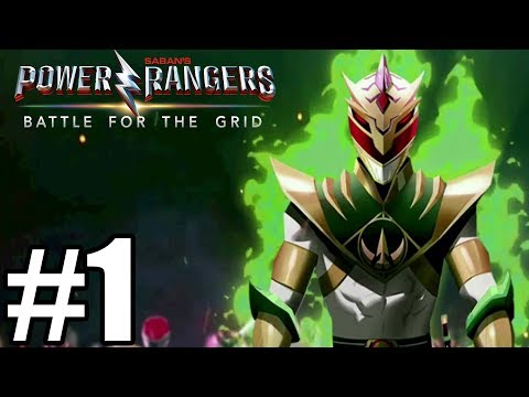 Power Rangers Battle for the Grid Story Mode Gameplay Walkthrough Part 1