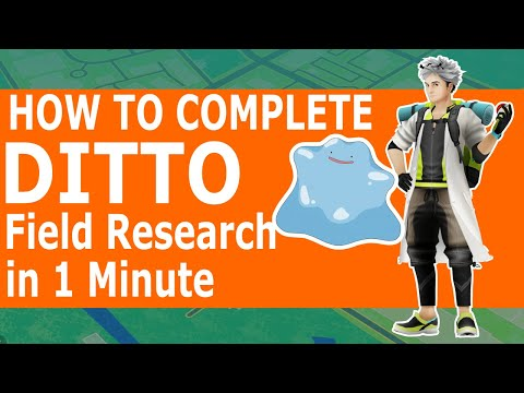 How To Complete Ditto Field Research Task In 1 Minute | PGO Feed