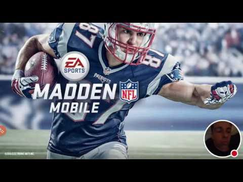 My Madden NFL Mobile Stream! Head to Head Sorry for audio!!!!