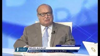 Milos Alcalay | Exembajador de Venezuela ante la ONU