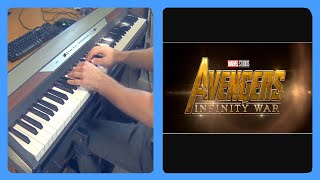 Infinity War: Avengers Theme Piano Dub