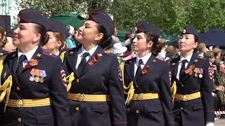 В День Победы в Байконуре прошли торжественные мероприятия на центральной площади