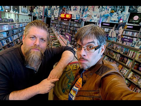 We Found A Two Story Video Rental Store  !!! Movie Hunting