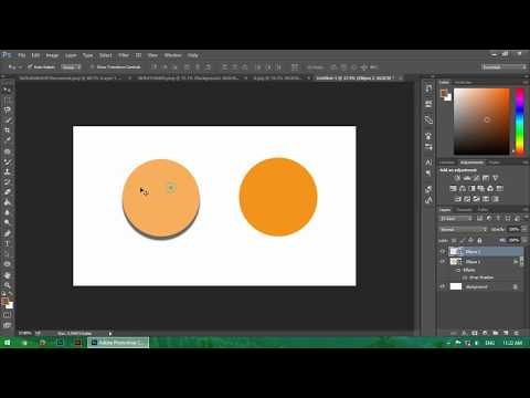 How To Add A Drop Shadow In Photoshop Elements | Shadow Effects Tutorial