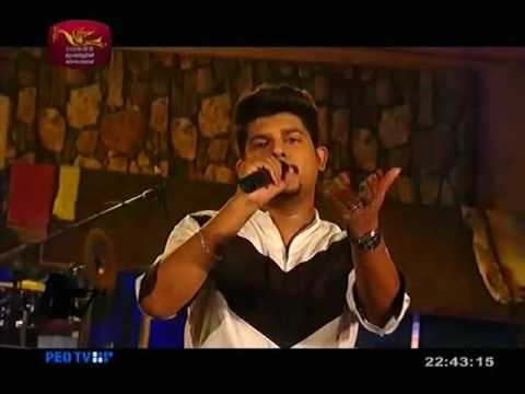 Sansara Sihinaye By Sanuka Wicky Live Performance @Rupawahini Feeling Of Youth Programme