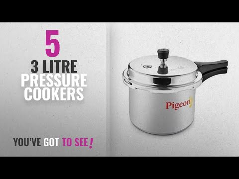 Top 10 3 Litre Pressure Cookers [2018]: Pigeon By Stovekraft Favourite Induction Base Aluminium